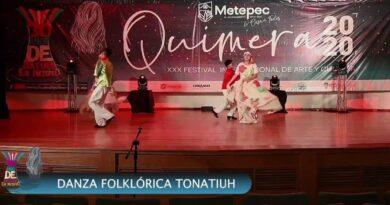 Cautiva Quimera a seguidores del Festival de Metepec