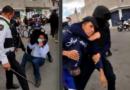 """En Chimalhuacán exigen a Alfredo del Mazo """"Amarre a sus perros""""."""