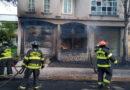 Causó pánico en Toluca incendio originado en pipa de gas LP